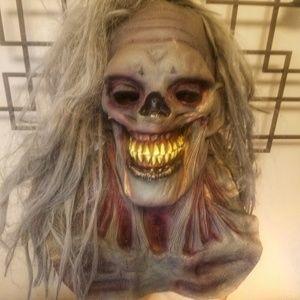 Zombie Halloween Mask Latex Hand Painted